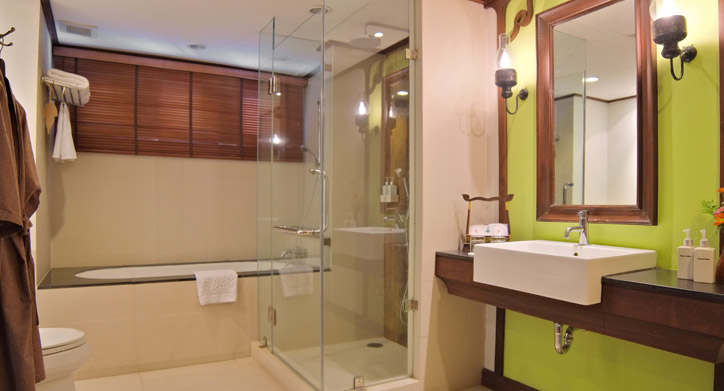 Grand Deluxe rooms - Bathroom, De Naga Hotel - Chiang Mai